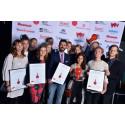Alla vinnare i reklamtävlingen 100-wattaren