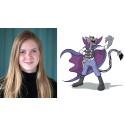 13-åriga Elsa från Kållandsö skapade ny skurk i Kalle Anka