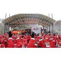 1500 tomtar sprang in över 240.000 kr till behövande
