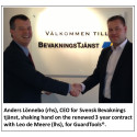 GuardTools® receives new 3 year contract from Svensk Bevakningstjänst.