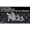 Västra Götalandsregionen satsar två miljoner på kulturinsatser för asylsökande