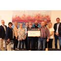 Sparbanken Nord i Piteå delade ut 62 500 kronor