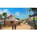 Karibisk gågata ger ny färg till Sommarland