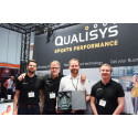 "Qualisys winner of the ""Innovation of the year"" award at Elite Sports Performance Expo"