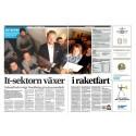 Reportage i Dagens Industri om Umeås växande IT-sektor