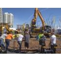 Suksess for Engcon på Conexpo i Las Vegas