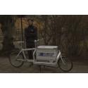 Bud- och logistik företaget 215 215 Transporter sätter miljön i fokus genom att starta med cyklar i Malmö