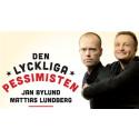Humorföreställningen DEN LYCKLIGA PESSIMISTEN till Stockholm 16 november!