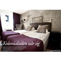 """""""Kolonialstilen står sig"""" - reportage i senaste numret av Hotell & Restaurang"""