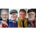 Alf Cranner, Øystein Sunde, Sid Jansson og Lars Klevstrand til visekveld på Rockheim.