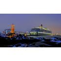 British cruise passengers heading for Gothenburg in December