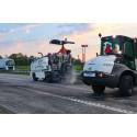 Fräsning av asfalt