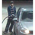 Man sought by police, with VW Golf