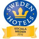 Sweden Hotels Awards 2016 - nomineringar Sociala Medier 2016