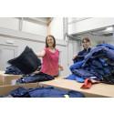 4,2 ton uttjänta kläder får nya värden istället för att brännas