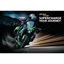 Kawasaki presenterar kompressormatad sporttourer