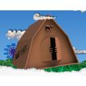 Ny ultimat campingupplevelse på Into the Valley med helt återvinningsbara tält i kartong