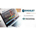 Kundreferens: Bygglet ger Techtak i Småland en tydlig dokumentation över projekten