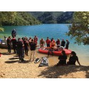 Safe at Sea and Fire Technologies demonstrated the RescueRunner in Esparron de Verdon in France