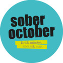 Pin Sober October 2016