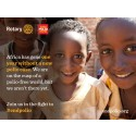Rotary manifesterar Världspoliodagen på operan Don Juan i Eric Ericssonhallen