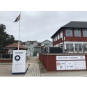 Bluewater på plats i Sandhamn med vattenstationer som löser Sandhamns vattenbrist under sommaren