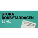 Idag är det Stora Bokbytardagen i över 30 städer i Sverige!
