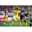 CLUB BRUGGE GAAT STRIJD AAN IN TERUGWEDSTRIJD TEGEN BORUSSIA DORTMUND IN UEFA CHAMPIONS LEAGUE