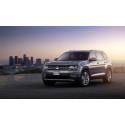 Detroitsalongen: Volkswagen presenterar Atlas och lång version av Tiguan