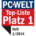 PC Welt: G Data InternetSecurity ist das beste Sicherheitspaket 2014