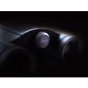Kowa Genesis 22, detaljebillede med sort baggrund