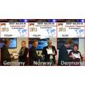 CEO Terje Rustad i Jimco Norge AS- agent för Sverige och Norge blev tilldelad pris som bästa säljare Worldwide inom UV-C teknologi – rening av luft för storkökslösningar(KPC)