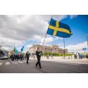 Veteranmarschen kommer till Uppsala och Vittinge