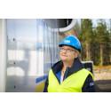 Stomresning av Finjas vindkraftverk