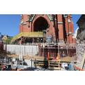 Renovering av trappa och gravkor samt byggnation av ny församlingssal under S:t Johannes kyrka