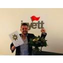 Inyett utses till Företagsstjärna i Helsingborg