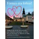 Tisdagen den 14 februari kl 18.30 firas en annorlunda högtidsstund i S:t Lars kyrka där kärleken står i centrum.
