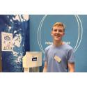 Anders Wall-stipendium till gymnasieelev som vill lösa världens vattenbrist