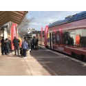 Stora samhällsvinster med kollektivtrafik på järnväg