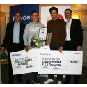 Boardie och F&A Forecasting vann Nordeas resestipendium 2018