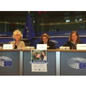 Friends besöker Europaparlamentet