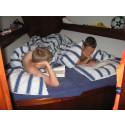 Sov torrt, med hotellkomfort