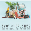 evo hair brushes - good for forests, good for your hair!