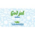 VafabMiljö önskar En Riktigt God Återvinningsjul!