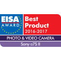 Sony nappasi kärkisijan viidessä EISA Award  -kategoriassa vuonna 2016
