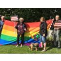 Hyresgästföreningen deltar i Pride Varberg för allas rätt till ett bra hem!