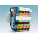 Compact terminal blocks for building installation
