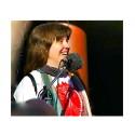 Lisa Wanneby - samordnare för den nationella demonstrationen lördag 26 oktober på Mynttorget