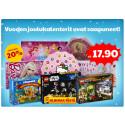 Adventtikalenterit alk. 19,90 € | Legowear, Name it, Småfolk talvivaatteita - 50% | Neuletakkeja ja pitkähihaista -50% | Halloween-tuotteita! | Voita BRIOn nukenvaunut!