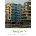 Manodo introducerar tredje generationen av Analyser, det ledande programmet för energianalys i fastigheter